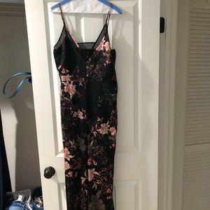 Adelyn Rae floral jumpsuit